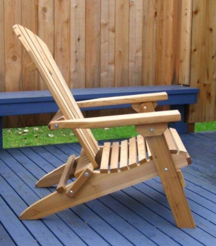 Cedar Ottoman Plans ~ Folding adirondack chair with ottoman woodworking