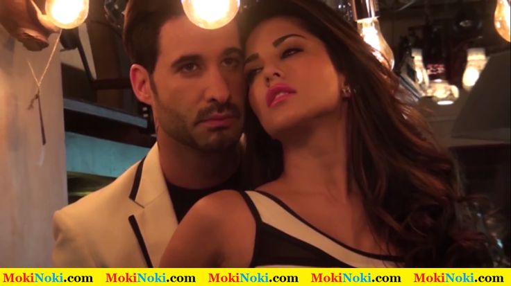 Sunny Leone with Daniel Weber On Mandate Magazine Cover January 2015 Issue 4