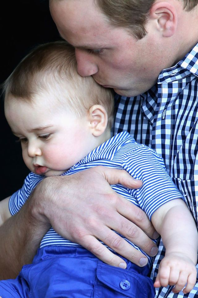 Prince William. See 37 other hot celebrity dads with their adorable kids.