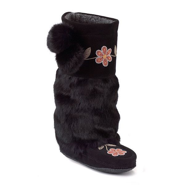 Manitobah Women'sMetis Mukluk with Crepe Sole Boot