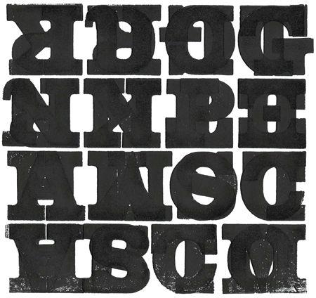 Slab serifs
