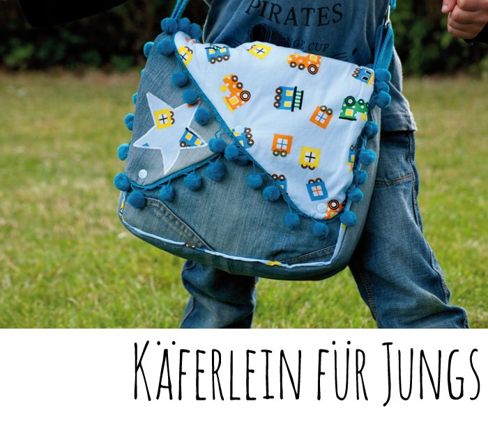 Kindergartentasche Käferlein nähen, Kindergartentasche Schnittmuster