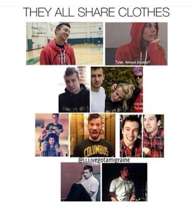 I LOVE THIS BAND AND I LOVE JENNA AND THERE IS JUST SO MUCH LOVE IN THE CLIQUE