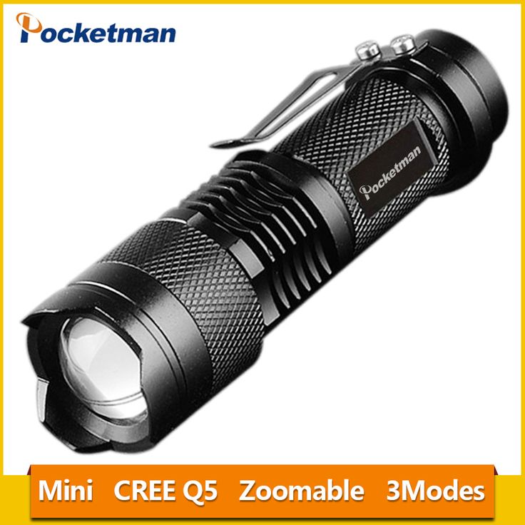 Mini Torche 2000 Lumens Flashlight Led Linterna CREE Q5 LED Gladiator Flashlight 3 Modes Zoomable LED Torch Penlight z56. Yesterday's price: US $2.87 (2.37 EUR). Today's price: US $2.87 (2.36 EUR). Discount: 56%.