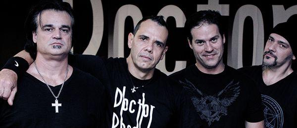 A banda de hard rock Doctor Pheabes abre o show dos Stones no Rio  (Foto: Divulgação)