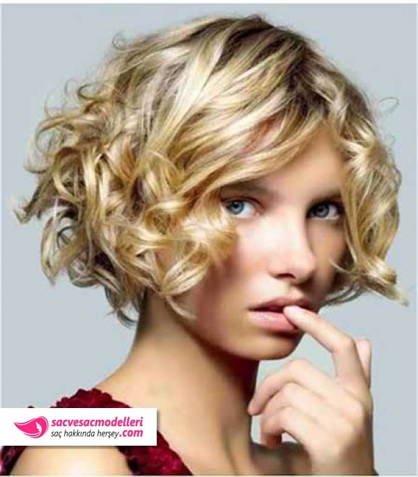43 best Kıvırcık saç modelleri images on Pinterest   Curly hair ...