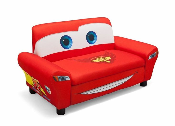 kids sofa couch disney cars home bedroom furniture kids storage toy