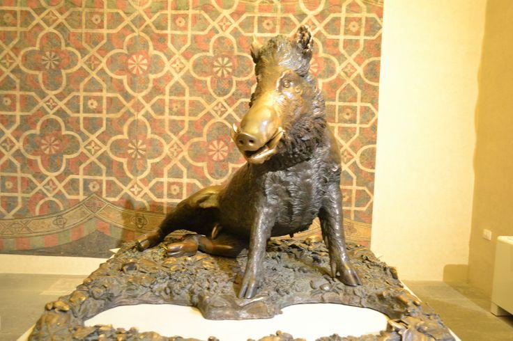 al museo Bardini l'originale porcellino