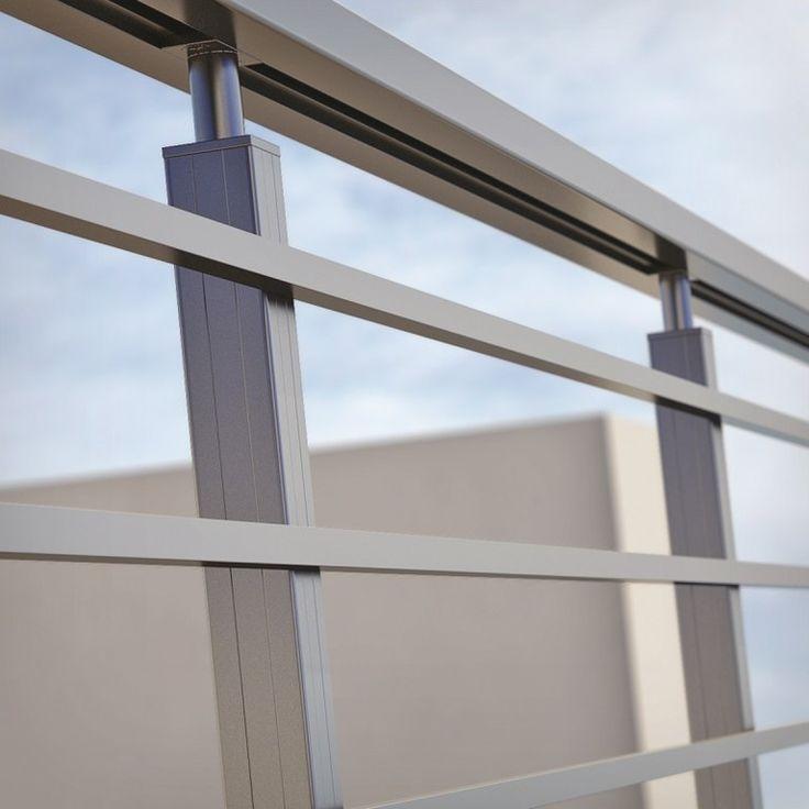 Las 25 mejores ideas sobre pasamanos de aluminio en - Barandilla de aluminio ...