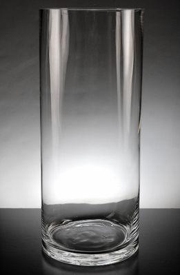 Clear Glass Cylinder Vase 14 in.$10 #saveoncrafts #dreamwedding