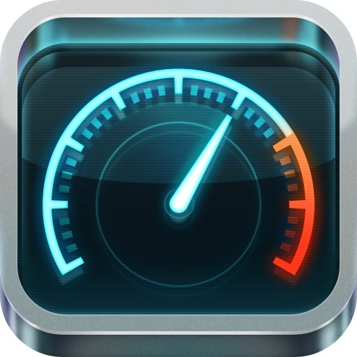 How fast is your phone? Speedtest.net Mobile Speed Test iOS App Icon