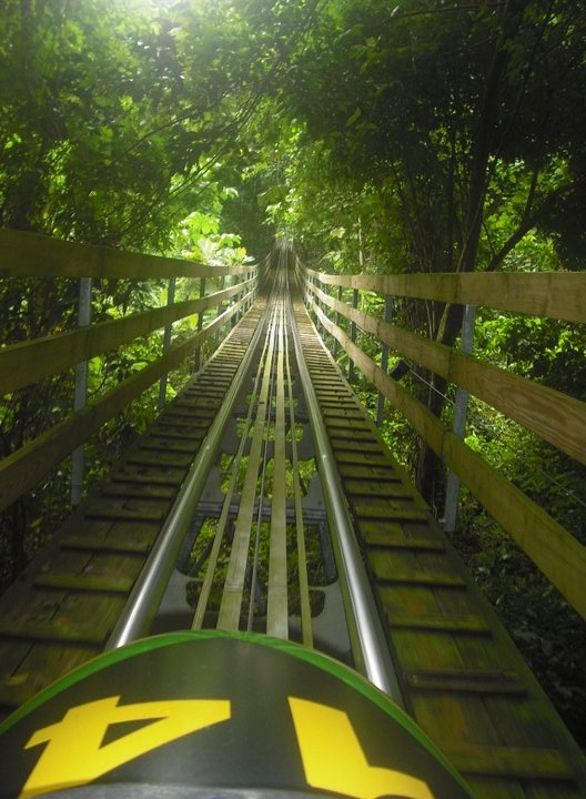 Ocho Rios, Jamaica | Get ready for a thrilling, once-in-a-lifetime bobsled ride through the wilderness of this incredible Caribbean haven.