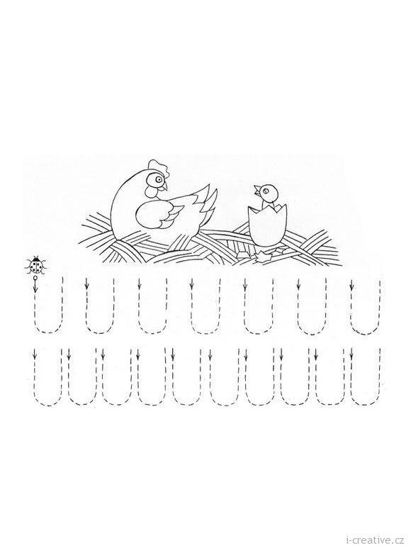 Pracovní, zábavné, grafomotorické listy k vytisknutí na téma JARO.Připravte si pro děti také další jarní zábavné listy a jarní omalovánky. Pro následujícíroční období využijete pracovní listy léto, podzim a zima.     …