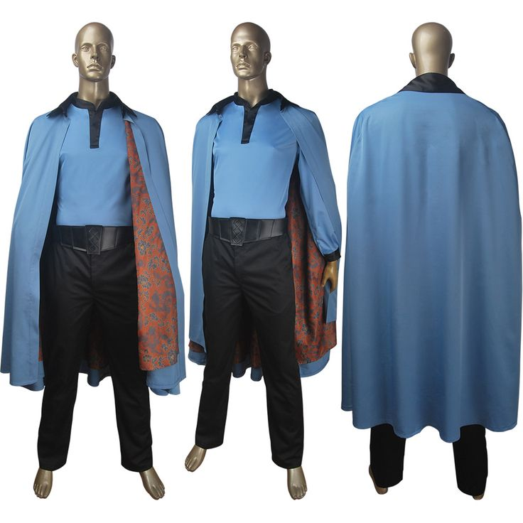 Solo: A Star Wars Story Lando Calrissian cosplay halloween costume film space Western scoundrel make-up carnival outfit