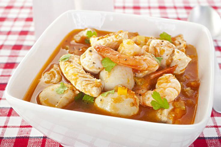 Sopa de mariscos (Meeresfrüchtesuppe) | Tacoweb
