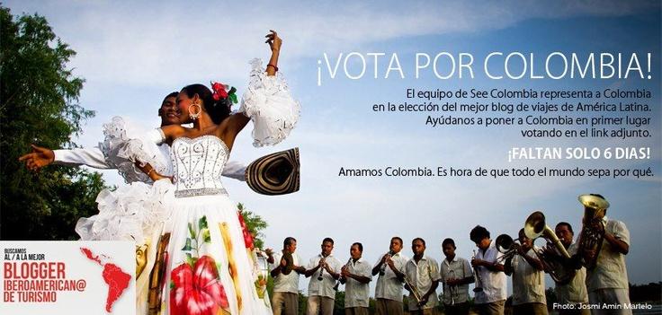 Vota por Colombia!