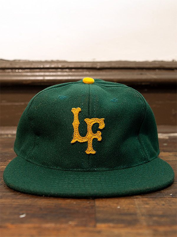 Ebbets Field Flannels x Left Field // Old Gold Fitted Ballcap