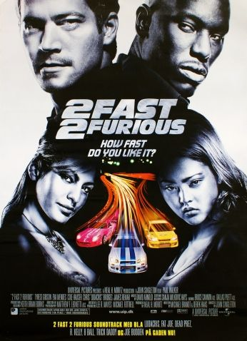 Poster Velozes e Furiosos Fast and Furious 2 Teaser Poster 02..