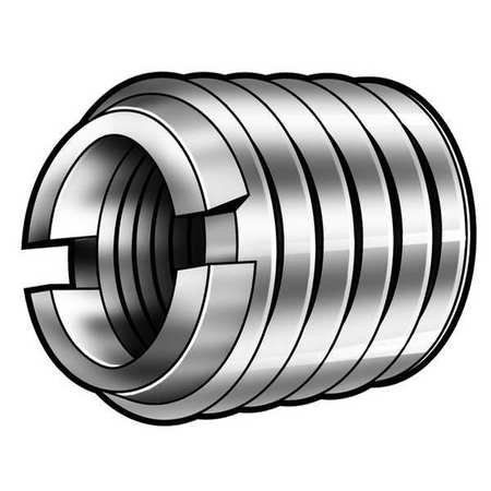 Threaded Insert, M12x1.75mm, PK5:   ' Self Locking Thread Insert, Wall Type Heavy, Carbon Steel, Internal Thread Size M12 x 1.75, External Thread Size M16 x 2, Thread Type Metric Internal/Metric External, Length 17mm, Tap Sizes M16 x 2.0, Drill Size 14mm, Min. Full Thread Depth 3/4, External Thread Class 6G, Internal Thread Class 6H, Tensile Strength (PSI) 78, 300, Brinell Hardness 163, For Use on Metal, Installation Screwdriver, Bolt/Nut, or Power Drive Tool G3036555, Package Quantity...