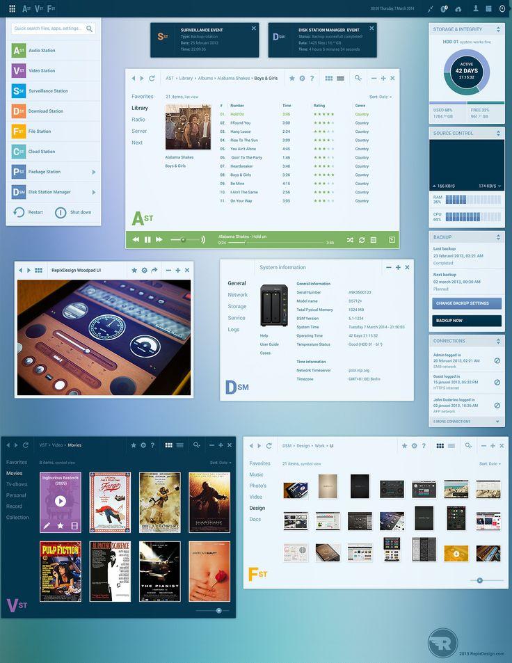 OS User Interface - Free PSD