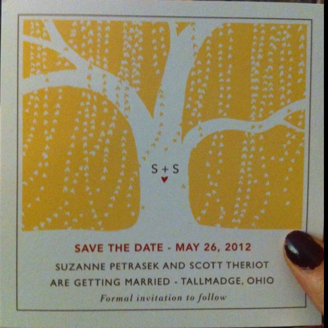 Weeping Willow Save the Dates!