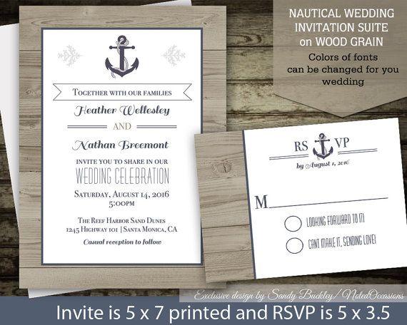 Nautical Wedding Invitation Wording: 17 Best Images About Zaproszenia On Pinterest