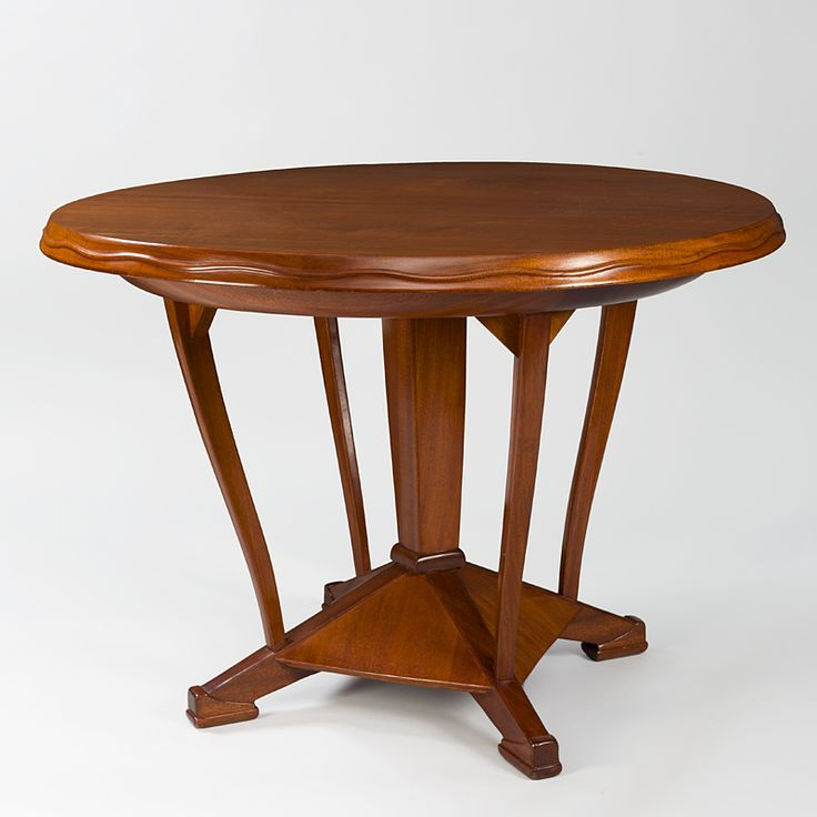 Lovely Mahogany table by Henry Van de Velde