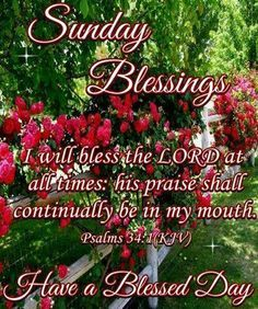 good morning sunday blessings - Google Search