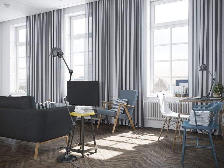 Die besten 25+ Fensterbefestigungen Ideen auf Pinterest Graue - Gardinen Wohnzimmer Grau