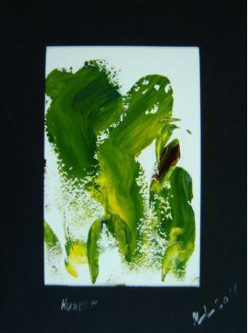 Nr. 376 Hubert (2011) von Manuel Süess, Acryl auf Papier, #Malerei http://art-by-manuel.com