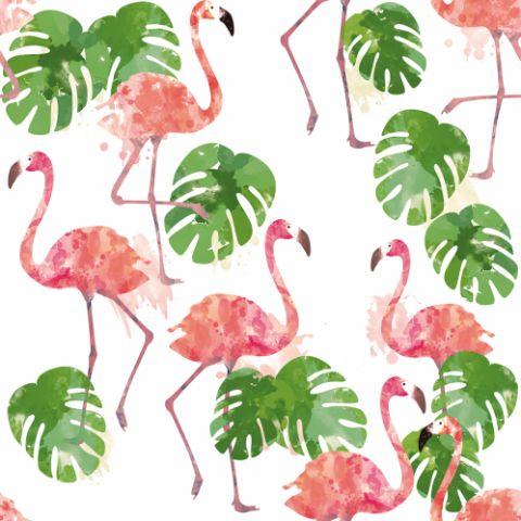 Motiv Flamingo, Designer SaNe-Stuecke