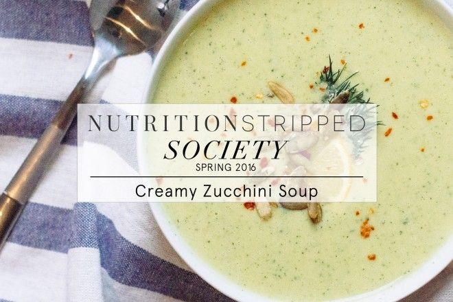 Zucchini soup, Zucchini and Soups on Pinterest