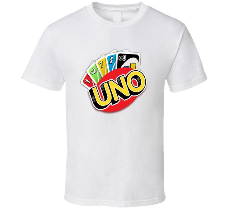 Uno Card Game Fan T Shirt