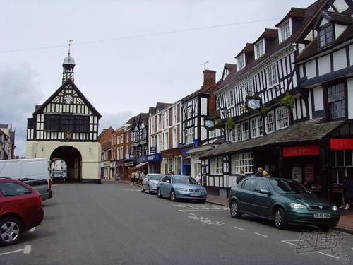 Bridgnorth High Street.