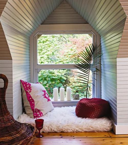 17 Best Images About Window Reading Nook On Pinterest
