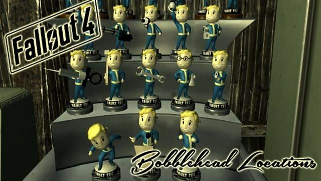 Fallout 4 Bobblehead Locations: The definitive map guide to the wasteland bonus - Xbox One Articles | The Australian Xbox One Community
