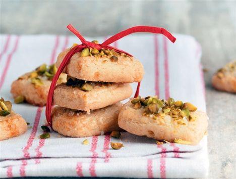 Opskrift på Finskbrød med pistacienødder fra - Hjemmet