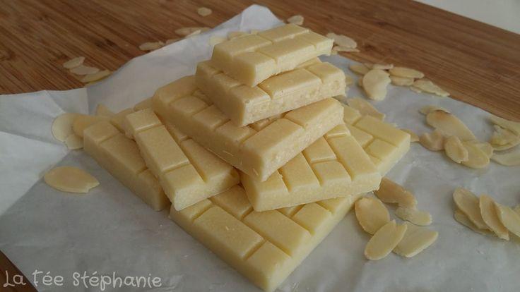 La Fée Stéphanie: Recette du chocolat blanc VEGAN fait maison pour préparer Pâques sans souffrance animale!