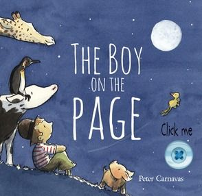Click the button to pre-order a copy of The Boy on the Page. For more picture books visit www.newfrontier.com.au #kids #book #boy #cover #design #illustration