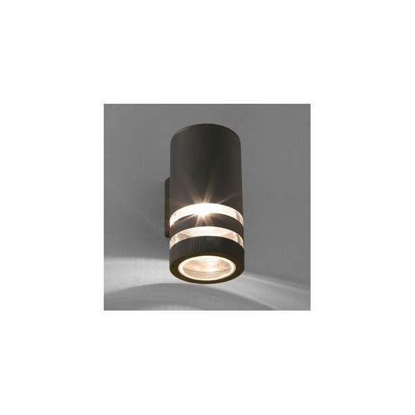 Zewnętrzna LAMPA ścienna SIERRA 4421 Nowodvorski metalowa OPRAWA elewacyjna KINKIET do ogrodu IP54 tuba outdoor czarny
