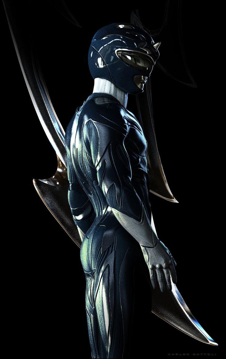 ArtStation - Blue Ranger, Carlos Dattoli