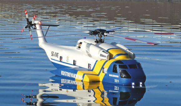 Sea King mit  Tiefgang: Sikorsky HH-3F Pelican