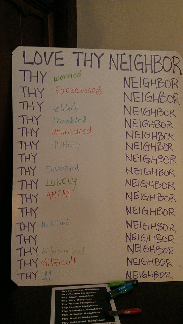 interactive prayer stations on love--this would be neat to turn into something permenant in the foyer so new comers could see we love all the neighbors.