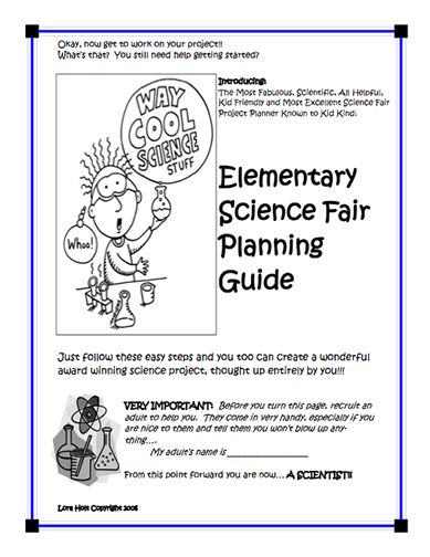 11 best science fair images on pinterest science ideas school heres an elementary science fair guide for kids stopboris Image collections