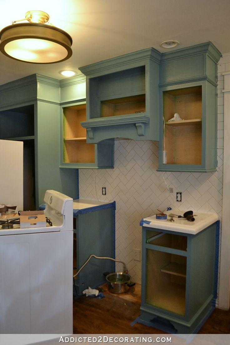 teal kitchen cabinets. Teal Kitchen Cabinet Progress  Plus Hardware Black or Brass Best 25 kitchen cabinets ideas on Pinterest
