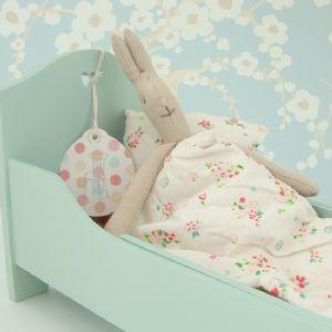 Ik heb zelf een mini maileg konijntje gekocht, voor mezelf maar het leek me ook leuk om mee te nemen voor op de slaapkamer als de kinderen naar bed gaan. Emma