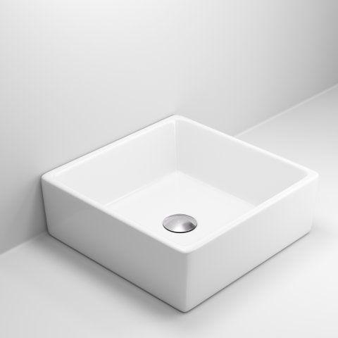 Rosa Counter Top Basin [PT-CA1000] - £99.99 : Platinum Taps & Bathrooms