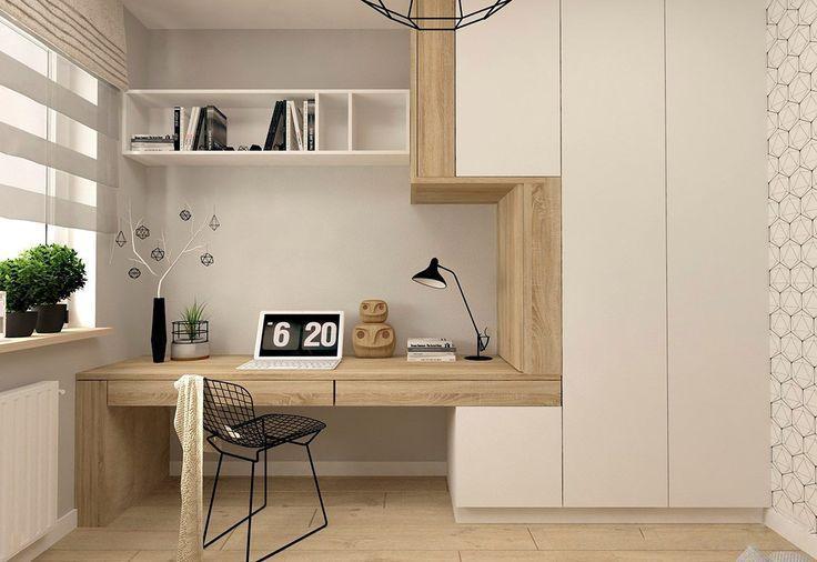 37 Minimalistische Home Offices mit einfachen, abe…