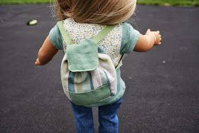 Small Backpack for American Girl Doll