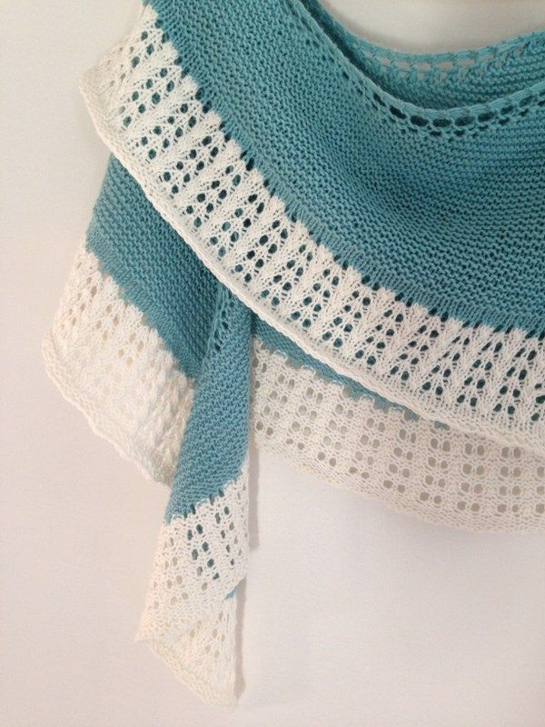 The 213 best Knitting - Shawls images on Pinterest | Cowl scarf ...